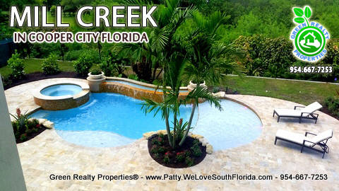 Mill Creek Cooper City Florida